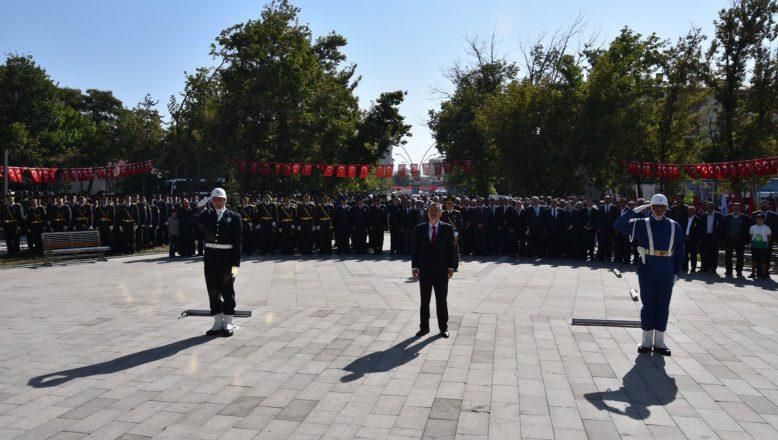 Ağrı'da  Zafer Bayramı'nın 96. Yıl Dönümü Törenlerle Kutlandı