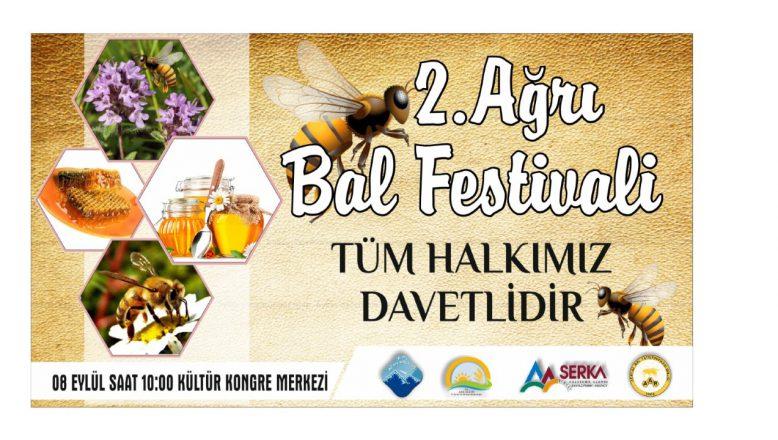 Ağrı 2.ci Bal Festivaline Hazır