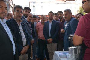 Patnos'ta 2 Bin Kişiye Aşure Dağıtıldı