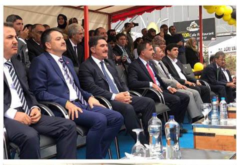 AK Parti Ağrı Milletvekili Ekrem Çelebi'nin Hızına Yetişilmiyor