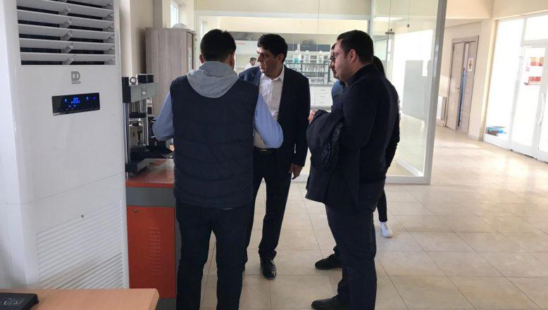 Rektör ALMA'dan ARKOZ Çimento Fabrikasına Ziyaret