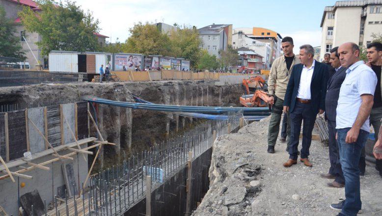 Ağrı Valisi-Belediye Başkanı Elban Bugün Bir Dizi Denetlemeler Yaptı.