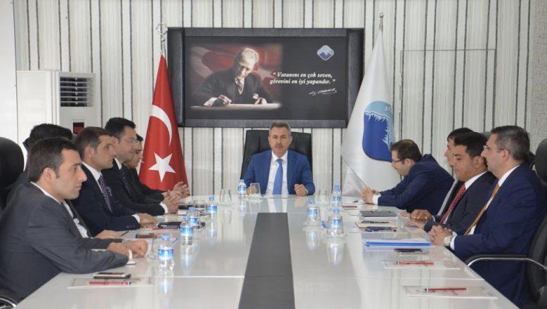 Vali Elban Başkanlığında Değerlendirme Toplantısı