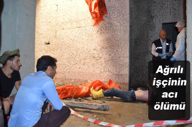 Ağrılı İşçiyi Ölüm Gurbette Yakaladı