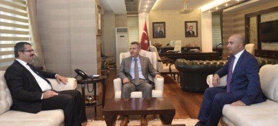 Azerbaycan Ankara Büyükelçisinden Vali Elban'a Ziyaret