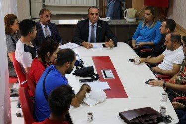 Ağrı'da Sportif Yetenek Taraması Bilgilendirme Toplantısı Yapıldı