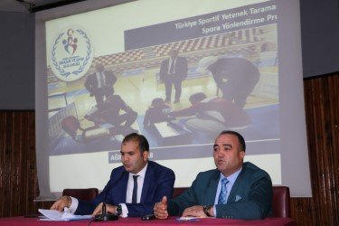 Ağrı'da sportif yetenek taraması toplantısı yapıldı