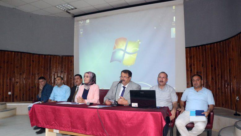 AĞRI'DA2018-2019 eğitim öğretim yılı hazırlık toplantısı yapıldı.