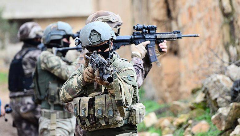 Terör'e ağır darbe,bir haftada 2 bin 283 operasyon düzenlendi.