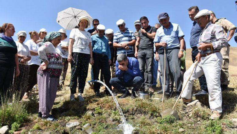 Bu Köy Yıllar Sonra Suya Kavuştu