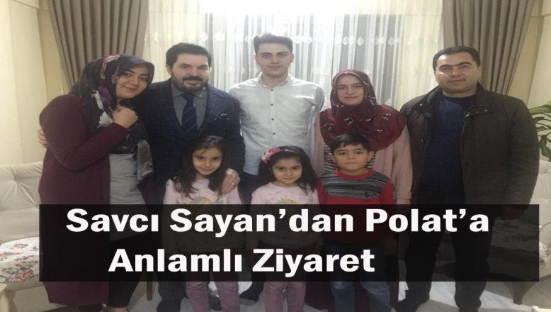 Ağrı Belediye Başkan Adayı Sayan'dan, Harun Polat'a Anlamlı Ziyaret!