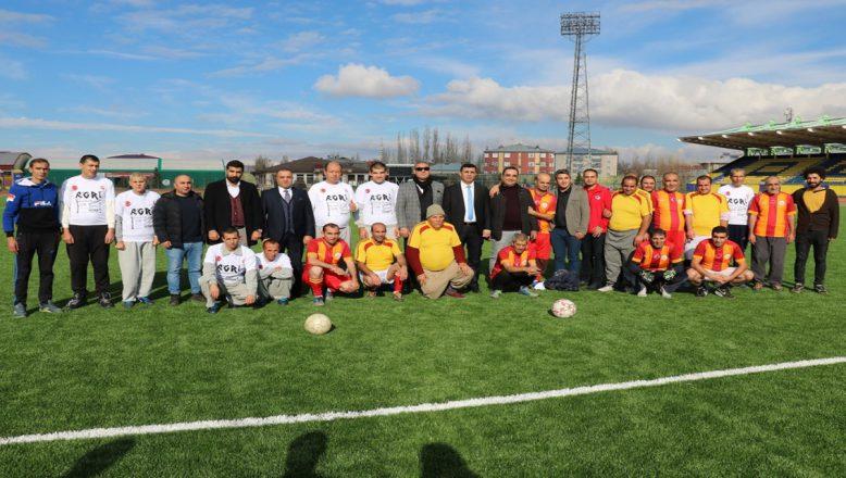 Ağrı'da Engelliler Günü Nedeniyle Futbol Maçı Yapıldı