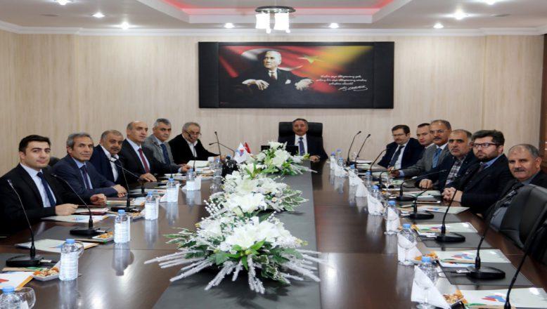 AİÇÜ'DE, Danışma Kurulu İstişare Toplantısı Yapıldı
