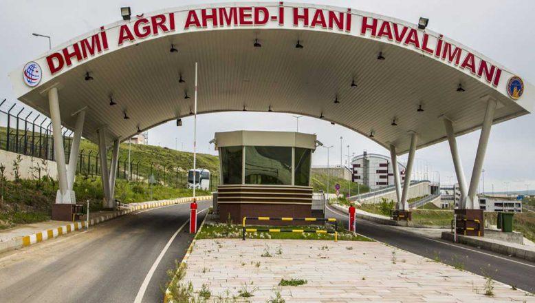 Ağrı-Ankara Uçak Seferleri İptal Edildi!