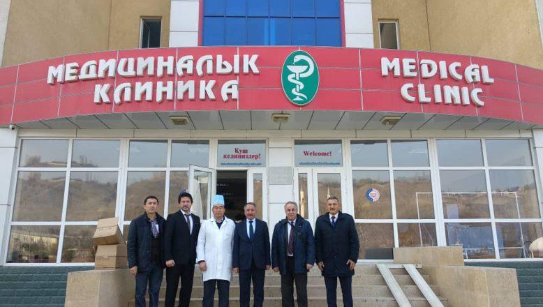 Rektör KARABULUT'UN, Kırgızistan ve Özbekistan Ziyareti
