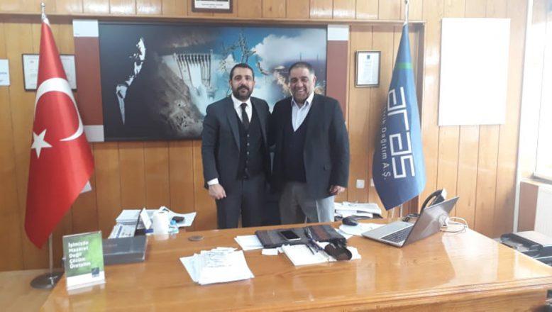 İş Adamı Volkan Barbaros'tan ARAS EDAŞ'A Ziyaret