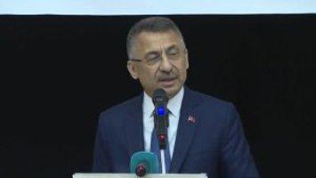 """Ağrı'da konuşan Cumhurbaşkanı Yardımcısı OKTAY """"Girişimci gençleri teşviklerle destekliyoruz"""""""