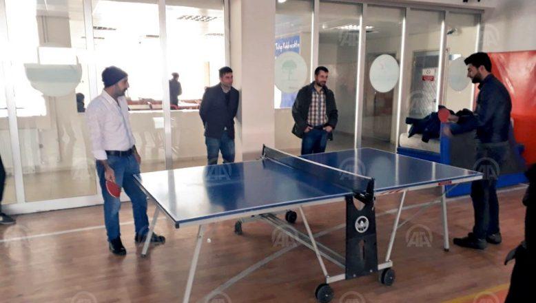 Doğubayazıt'ta,  Sportif Faaliyetlerle Sosyal Yaşama Adapte Oluyorlar