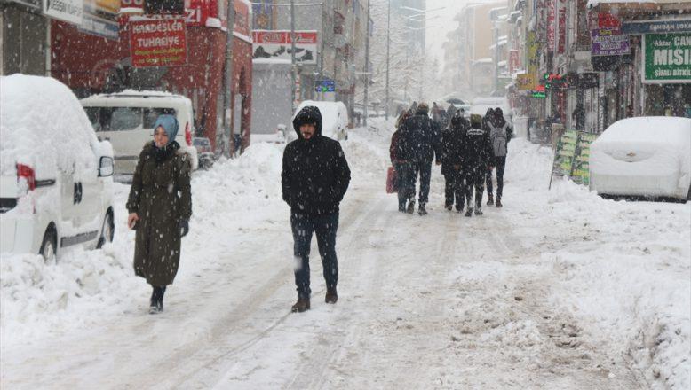 Ağrı'da Olumsuz Hava Nedeniyle Valilik Bir Açıklama Yaptı