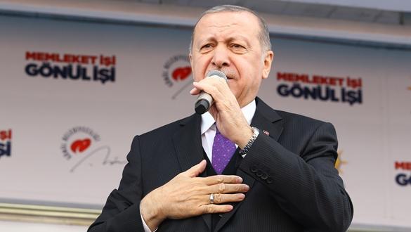Cumhurbaşkanı Erdoğan'ın Ağrı Mitingi