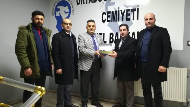 AĞRI Hak İş İl Başkanı Varol'dan, OGC'ye Ziyaret