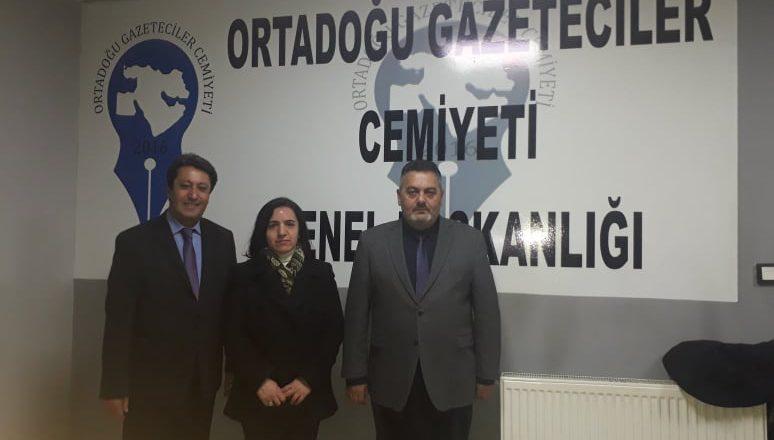 OGC Genel Başkanı Aydın'a, HDP Adayı Doğar'dan Ziyaret