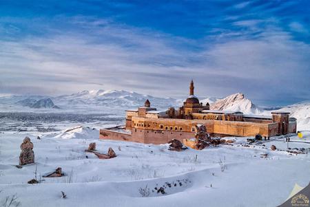 İshak Paşa Sarayına rekor sayıda ziyaretçi