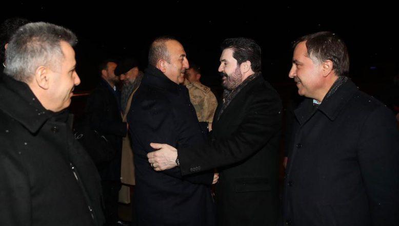 Dışişleri Bakanı Çavuşoğlu, Cumhurbaşkanımızla beraber Sayan'ın tüm projelerinin arkasındayız dedi