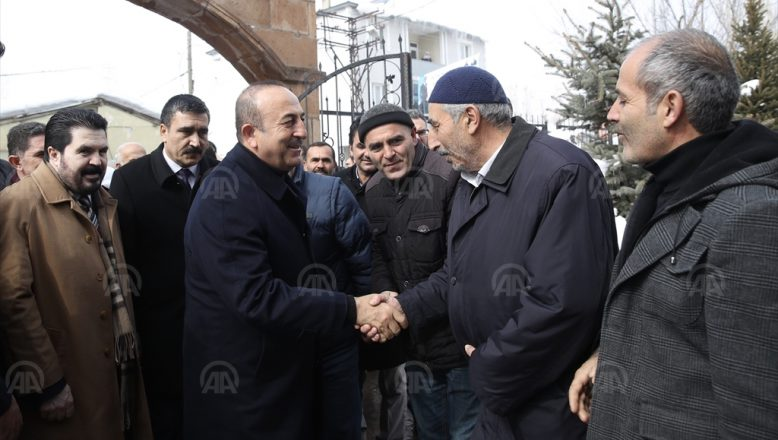 Dışişleri Bakanı Çavuşoğlu Ağrı'da Vatandaşlarla Beraber