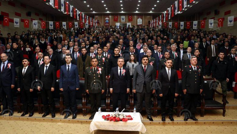 Ağrı'da 18 Mart Şehitlerini Anma Törenleri Düzenlendi