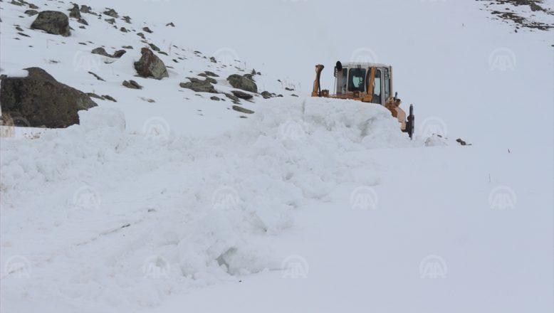 Bahar değil, Ağrı'da kara kış devam ediyor!