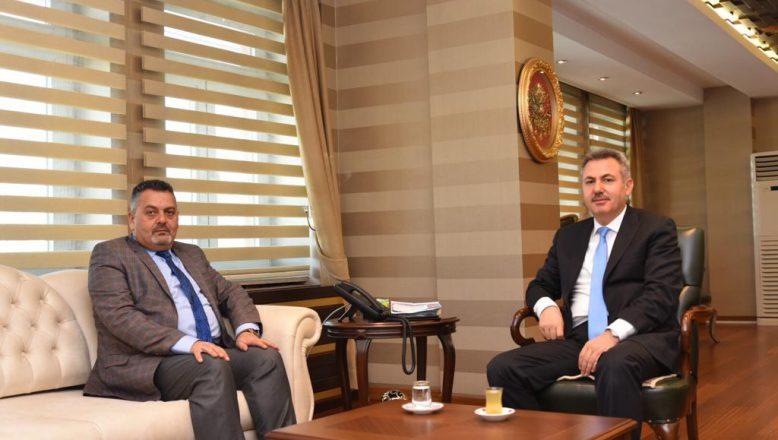 OGC Genel Başkanı Aydın'dan Vali Elban'a Ziyaret