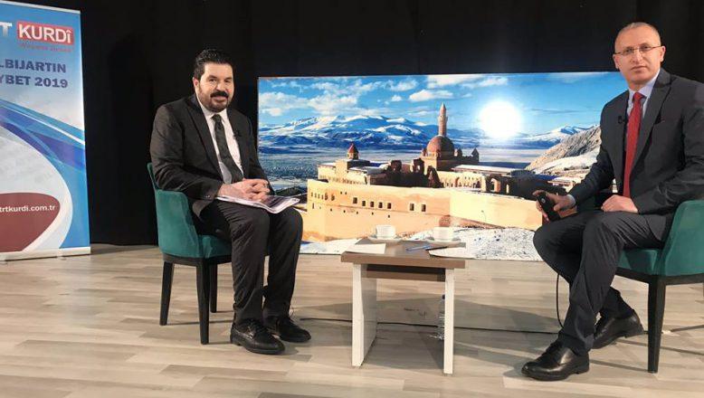 Savcı Sayan  Canlı Yayında TRT Kürdi'ye Konuştu