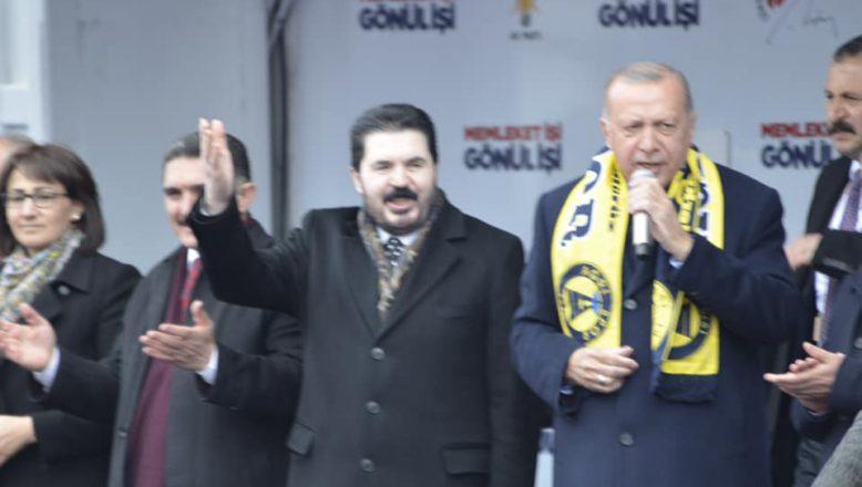Cumhurbaşkanı Erdoğan; Ağrı'nın huzuruna ve vizyonuna uygun bir belediye başkan adayı ile çıktık