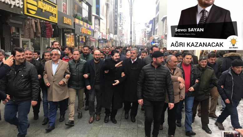 Savcı Sayan'dan Ağrı Esnafına Müjde!