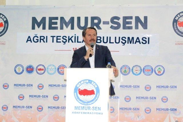 Genel Başkan Ali Yalçın, Memur-Sen Bağımsız Bir Kimliktir