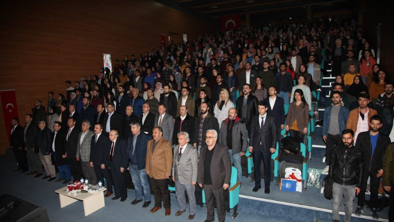 "Aiçü'de ""Milletin Sesi Mehmet Akif ERSOY ve İstiklal Marşımız"" Konulu Konferans Düzenlendi"