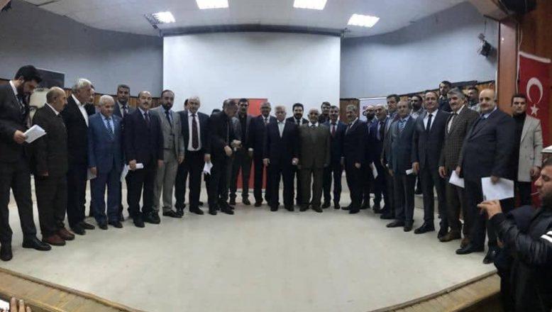 Ağrı'da Encümenler Mazbatalarını Başkan Sayan'ın Elinden Aldılar