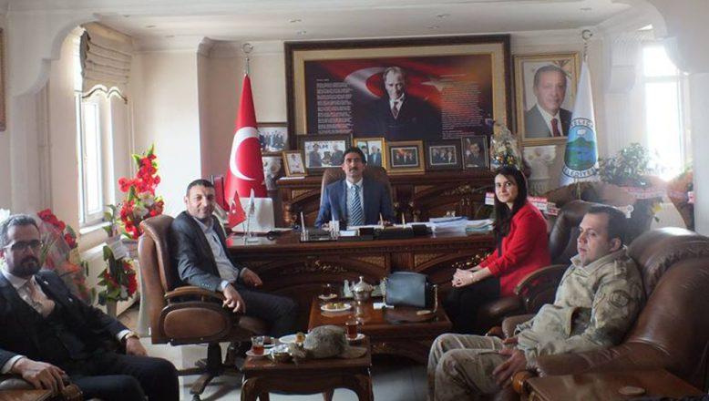 Baro Başkanı Aydın'dan, Başkan Taşdemir'e Ziyaret