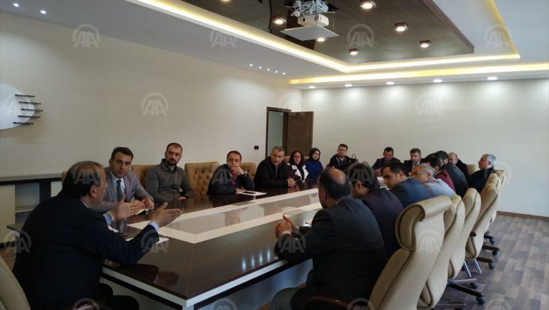 """Patnos'ta """"Kodla Ağrı"""" projesi kapsamında bilgilendirme toplantısı yapıldı"""
