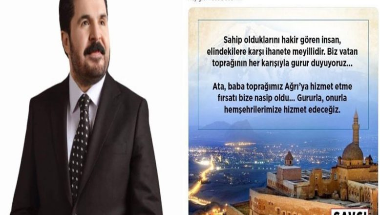 """"""" Başkan Sayan'dan Tokat Gibi Yanıt"""" Biz Vatan Toprağının Her Karışıyla Gurur Duyuyoruz!"""
