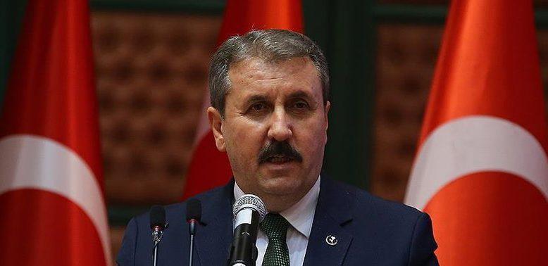 """Destici Ağrı'da Konuştu""""Türkiye'nin ayrışmasına, kamplaşmasına da müsaade etmemek lazım"""""""