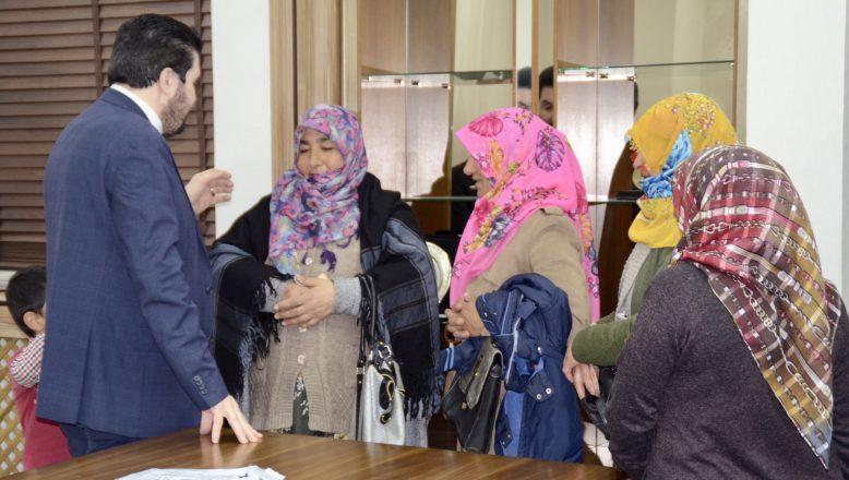 Ağrılı Kadınlardan Başkan Sayan'a Ziyaret