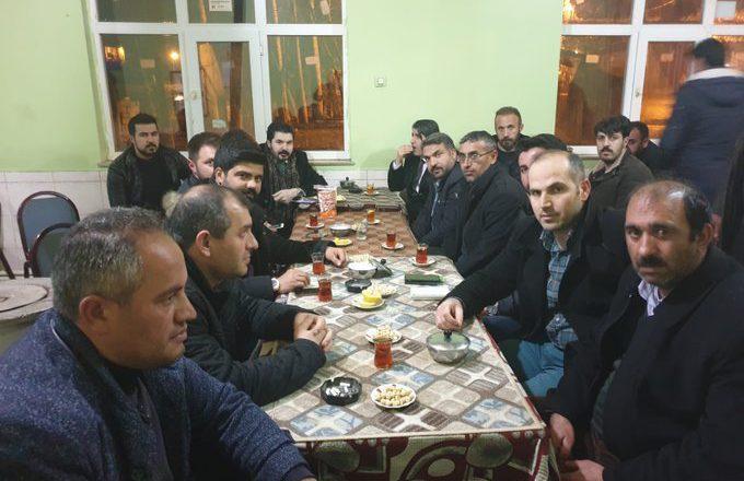 Ağrı Belediye Başkanı Sayan'dan, Mirgün'e Limonlu Çay