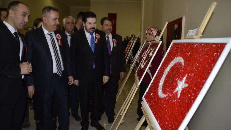Başkan Sayan 23 Nisan Ulusal Egemenlik ve Çocuk Bayramı Etkinliklerine Katıldı