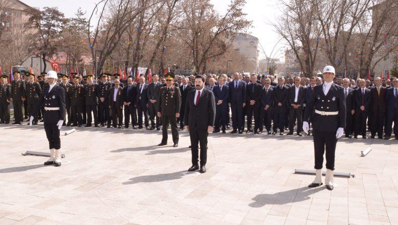 Başkan Savcı Sayan Ağrı'nın 101.ci Kurtuluş Yıl Dönümü Törenlerine Katıldı