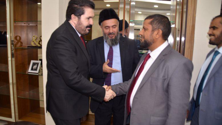 Başkan Sayan'a, Bakan Yardımcısı Muhammed Al Soudi 'den Ziyaret