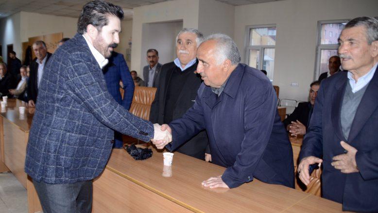 Savcı Sayan Köy Muhtarları İle Bir Araya Geldi