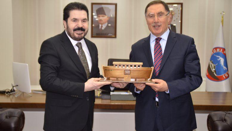 Kamu Başdenetçisi Malkoç'tan, Başkan Sayan'a Ziyaret