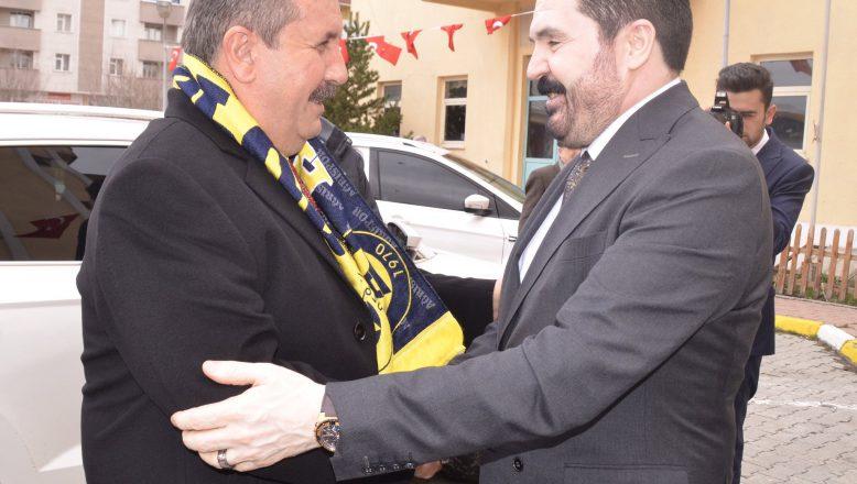 BBP Genel Başkanı Destici'den, Başkan Sayan'a Ziyaret